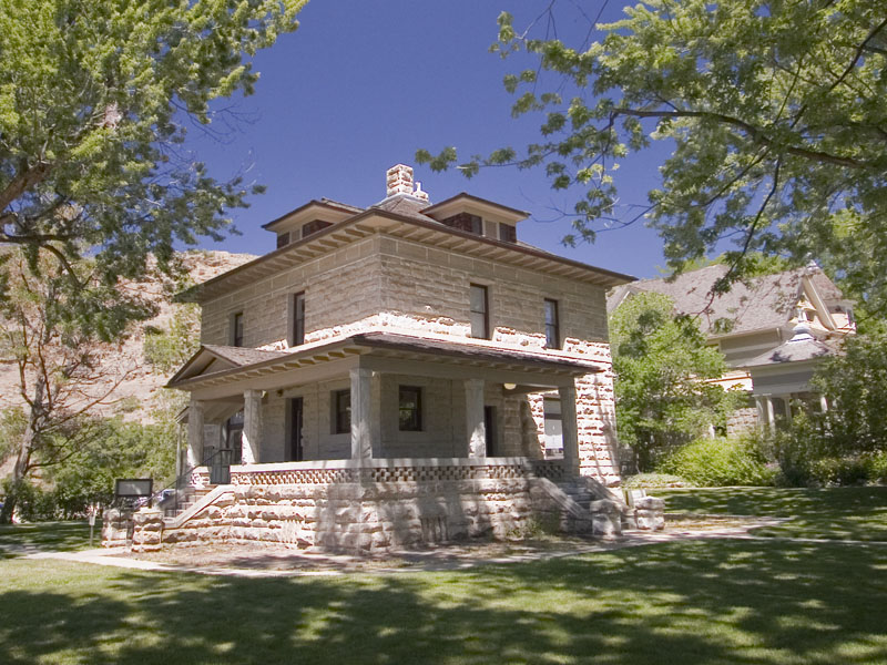 Old idaho state penitentiary warden s residence boise for Boise residential architects